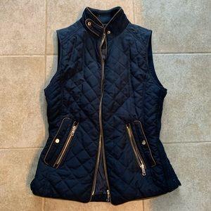 Zara Quilted Vest, Size S
